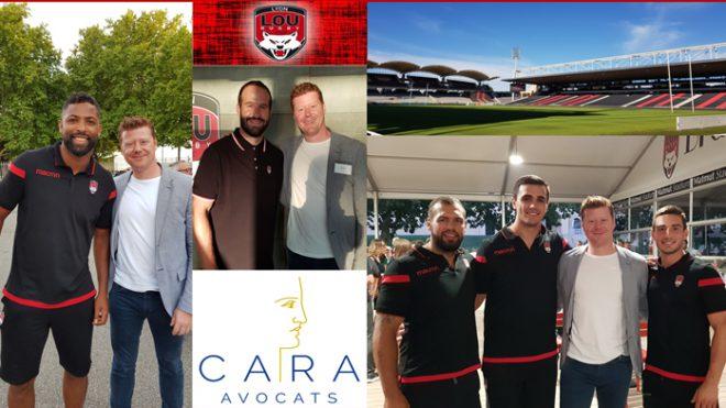 CARA Société d'Avocats devient partenaire du LOU Rugby